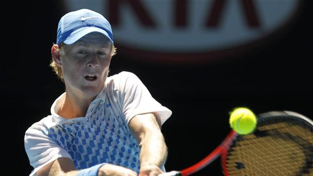 Saville wins boys' final - Tennis - Australian Open
