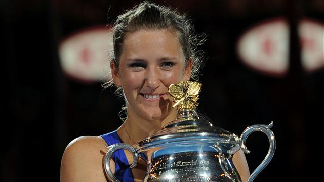 Azarenka storms to Australian Open title