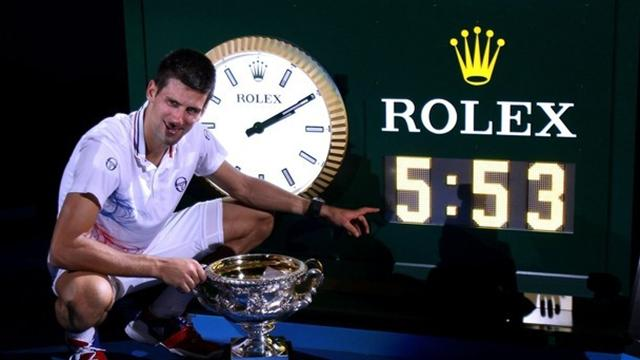 "Djokovic: ""Incroyable"" - Tennis - Open d'Australie"