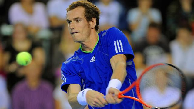 Murray absent for Belgium tie