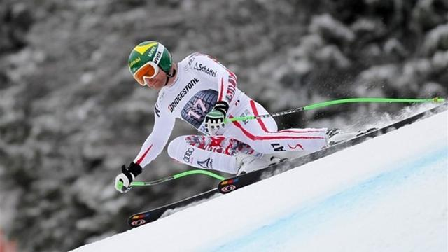Kroell leads way at second Bormio test
