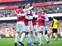 Arsenal crush Blackburn