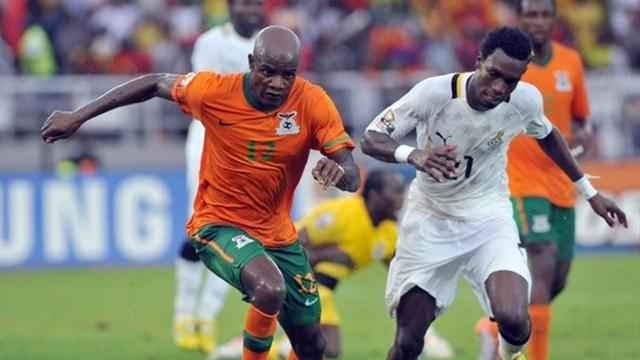 Ghana 0-1 Zambia  - Football - African Cup of Nations