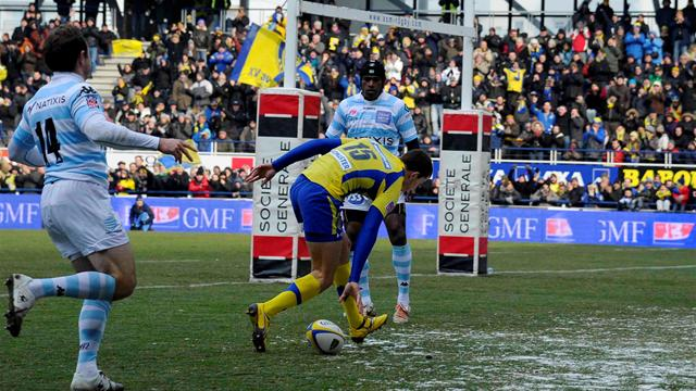 Clermont corrige le Racing - Rugby - Top 14