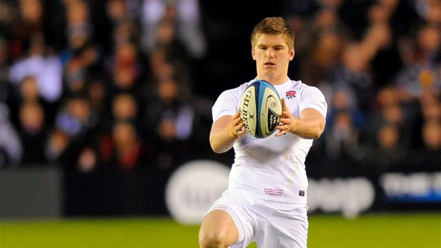 Farrell to start for England at fly-half - Rugby