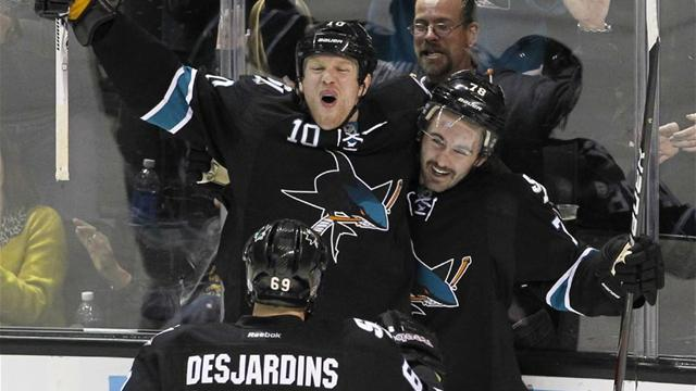 Sharks rout Capitals  - Ice Hockey - NHL