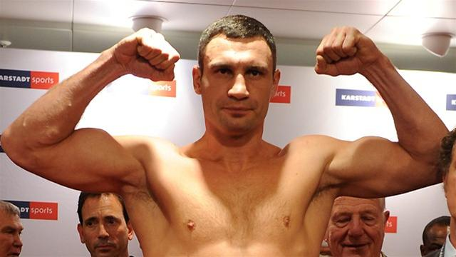 Klitschko to fight Charr - Boxing