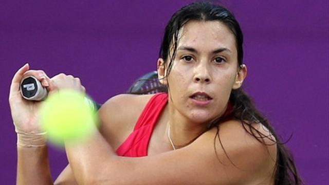 Bartoli en souffrant - Tennis - WTA Indian Wells