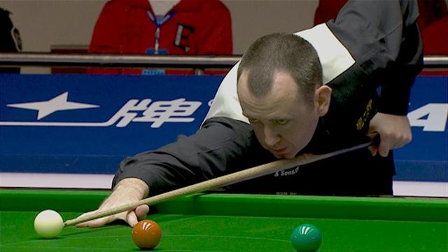 Williams out, Ding through - Snooker