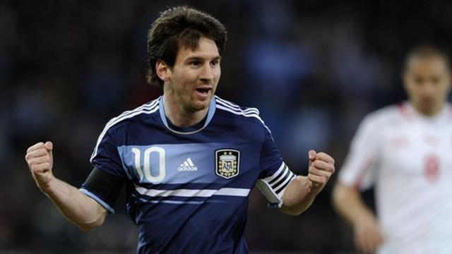 Messi sauve l'Argentine - Football - Match amical