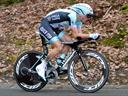 Chavanel wins time trial, moves to second in general classification