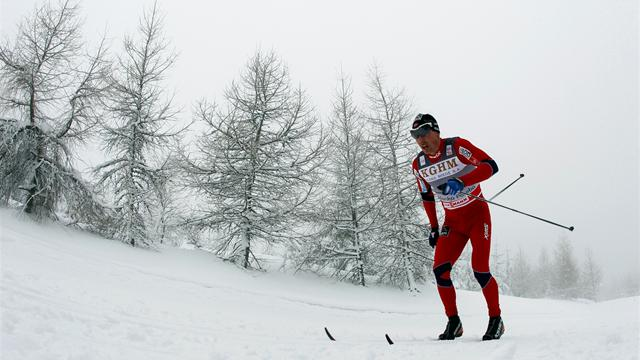 Roenning pips Cologna - Cross-Country Skiing