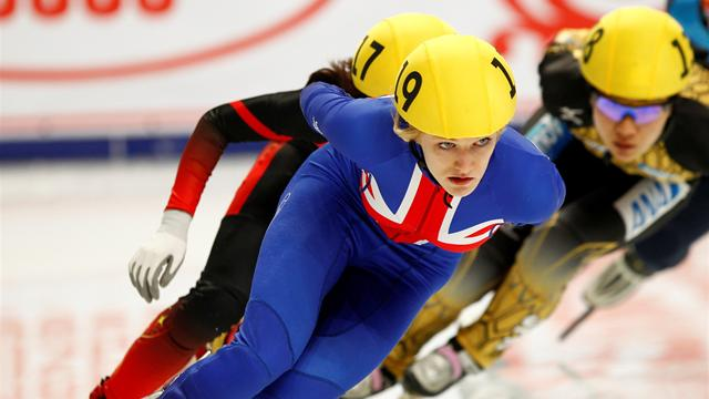 Christie adds silver to bronze in Sochi - Short Track