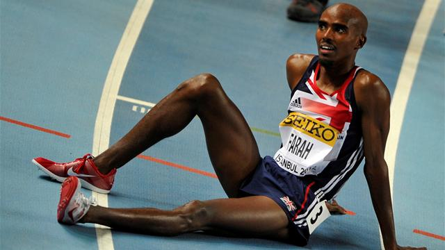 Farah withdraws from 1500m - Athletics