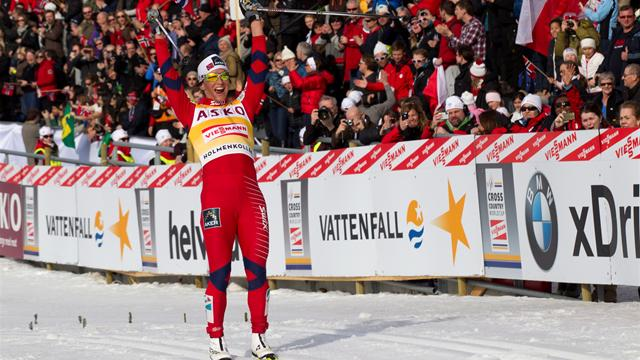 Bjoergen keeps run going - Cross-Country Skiing