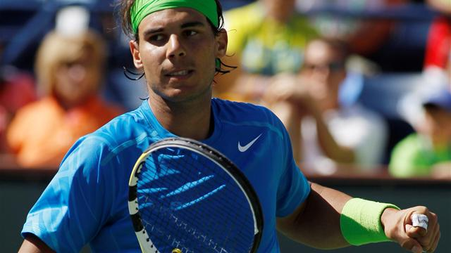 Nadal lays down early marker in California