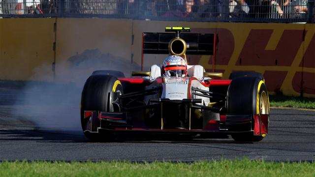HRT plays down duel - Formula 1