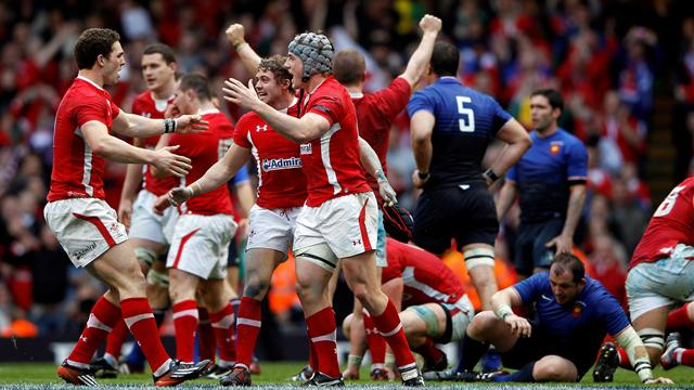 Wales win Grand Slam  - Rugby - Six Nations Championship