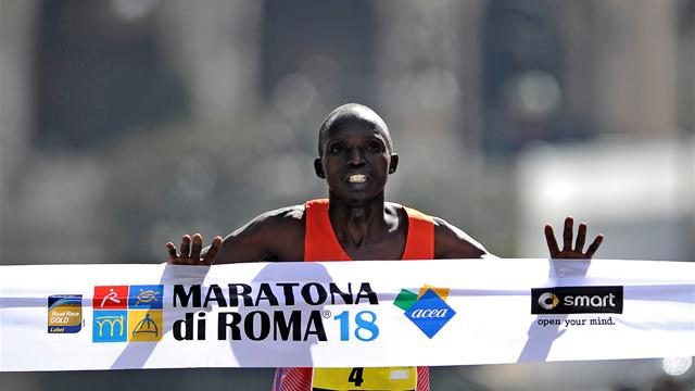 Kenyans double up in Rome