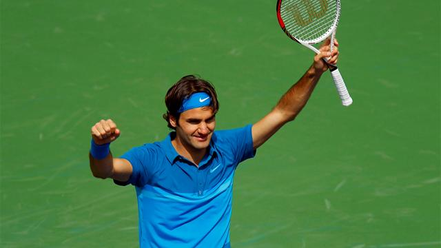 Federer en vrai maître - Tennis - Masters Indian Wells