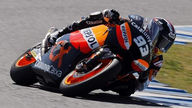 Marquez grabs pole - Motorcycling