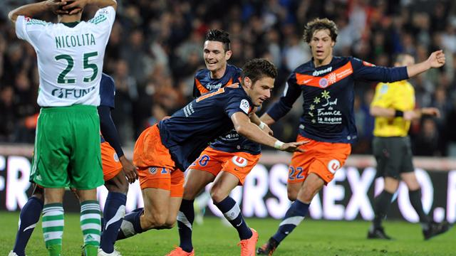 Last-gasp Montpellier go top