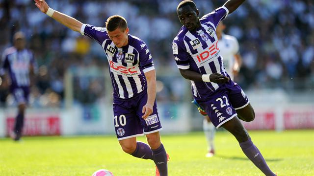 FOOTBALL - 2011/2012 - Toulouse-Auxerre - Tabanou