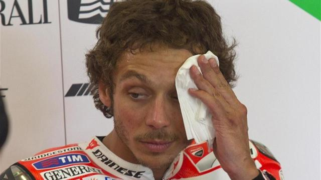 Rossi laments 'disaster' - Motorcycling