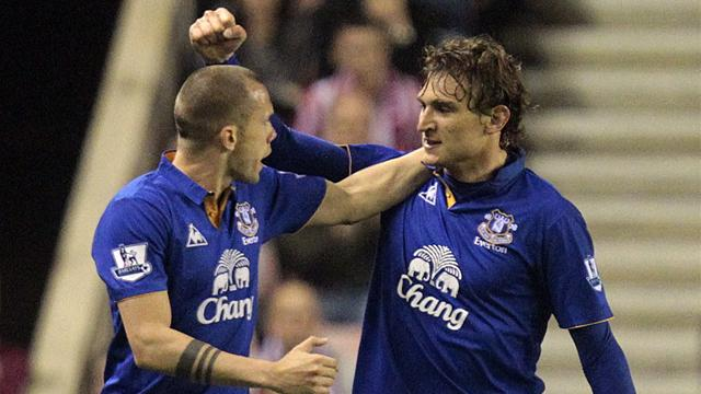 Everton through to semis - Football - FA Cup