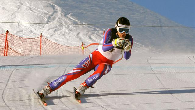 Baldwin retains British downhill title