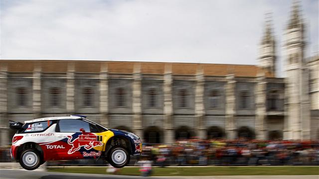 Loeb crashes out early in Portugal
