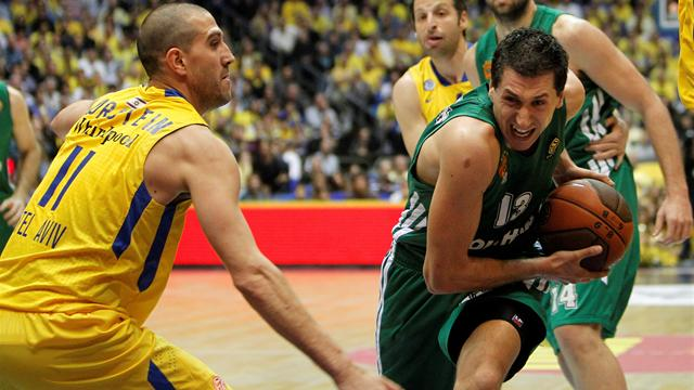 Panathinaikos win in Tel Aviv to set up game five
