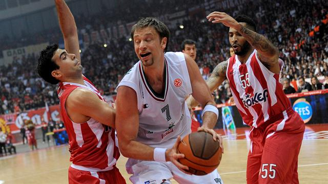 Olympiacos, CSKA make Final Four