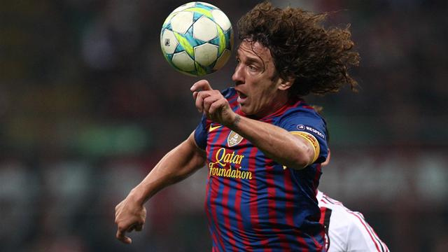 Puyol returns to training - Football - Liga