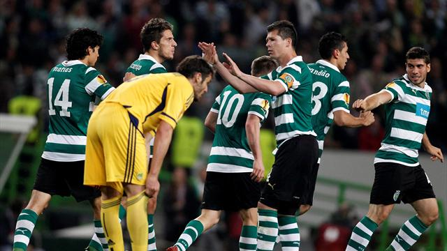 Sporting blame error - Football - Europa League