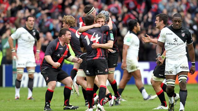 Edinburgh stun Toulouse to reach semis