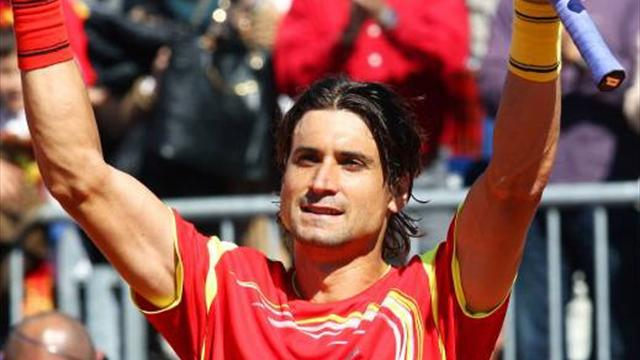 Spain, US to meet in Davis Cup semis