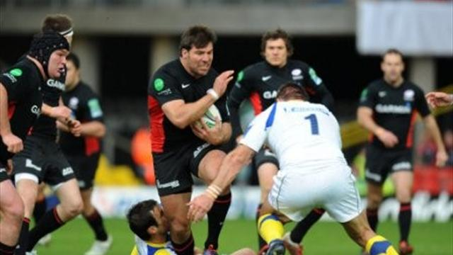 Saracens outclassed by Clermont