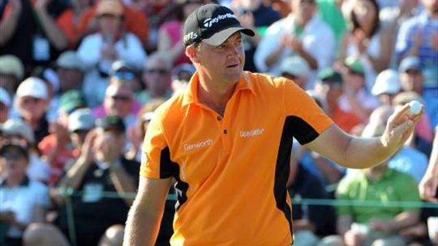 Hanson sexa i The Open - Golf