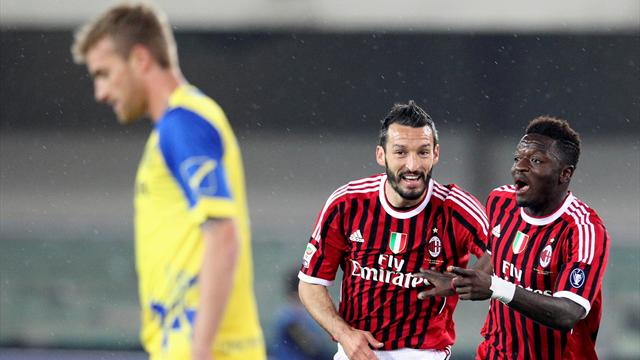 Chievo 0-1 AC Milan - Football - Serie A