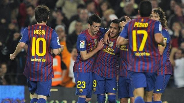 Barcelona 4-0 Getafe  - Football - La Liga