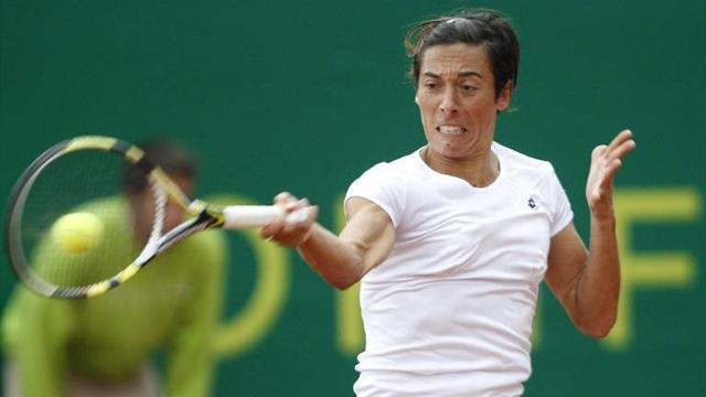 Schiavone AEGON top seed - Tennis