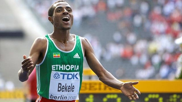 Bekele to compete in GB trials