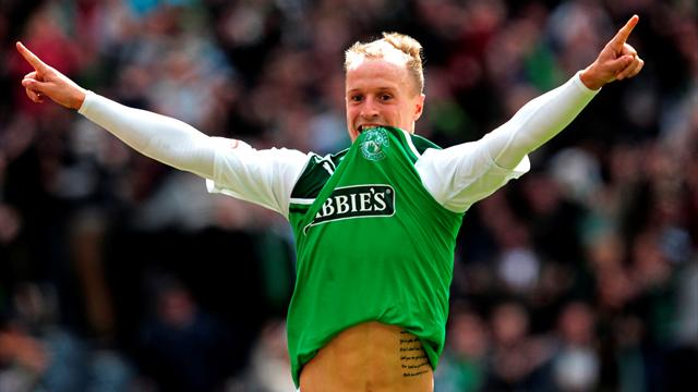 Griffiths fires Hibs into final