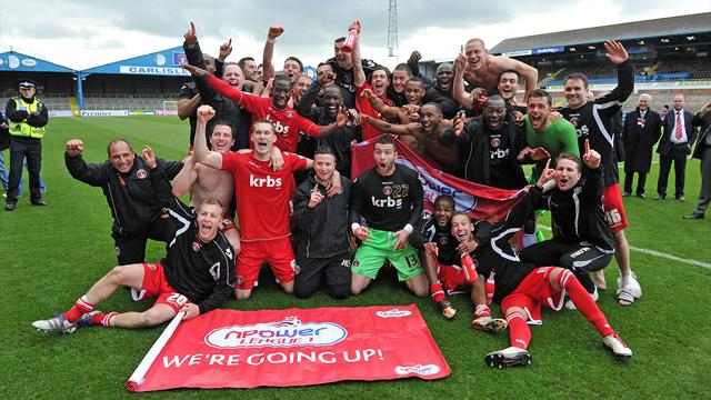 Charlton promoted - Football - League One