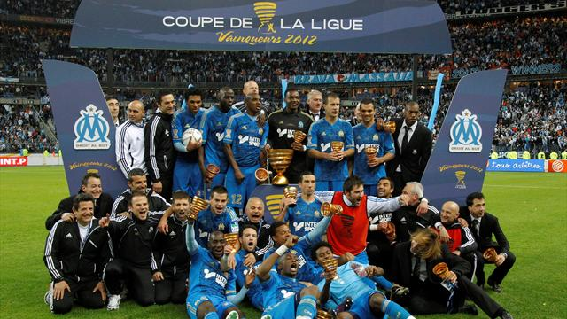 Brandao earns Marseille treble
