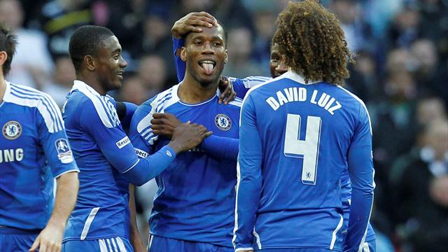 Goal-line controversy as Chelsea hammer Spurs