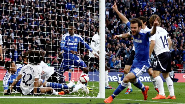Chelsea hammer Spurs - Football - FA Cup
