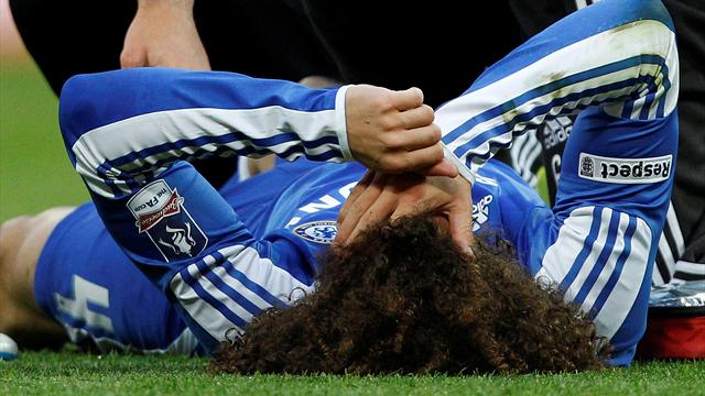 Luiz upbeat over final  - Football - Champions League