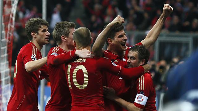Bayern edge Real - Football - Champions League